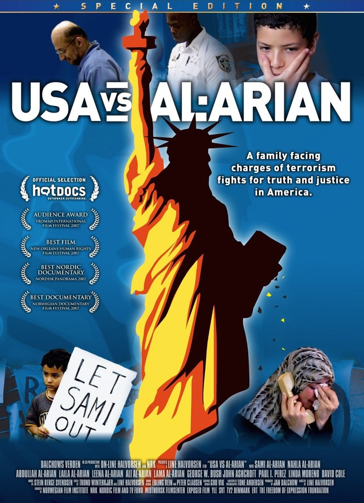 USA vs. Al-Arian: Image of the cover of the film