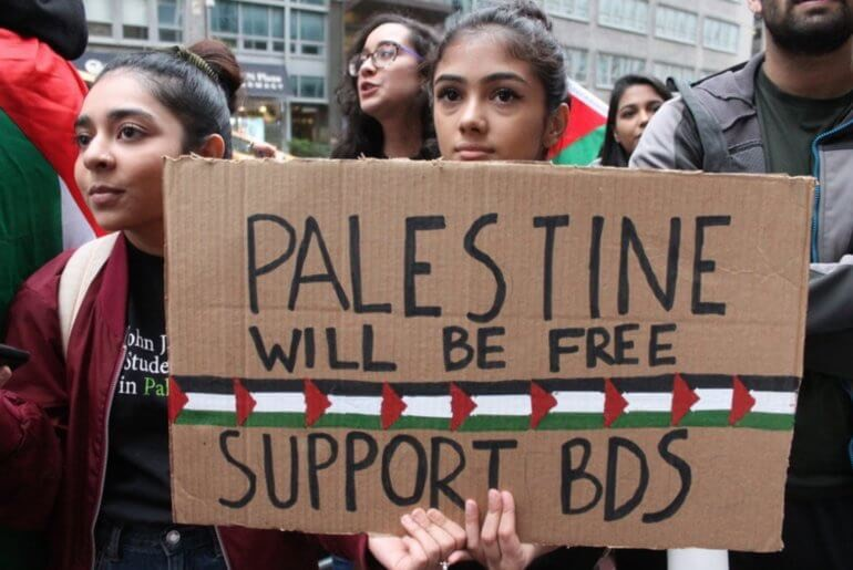 BDS Activists in NY