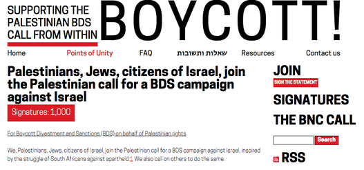 Boycott from Within 1000 members