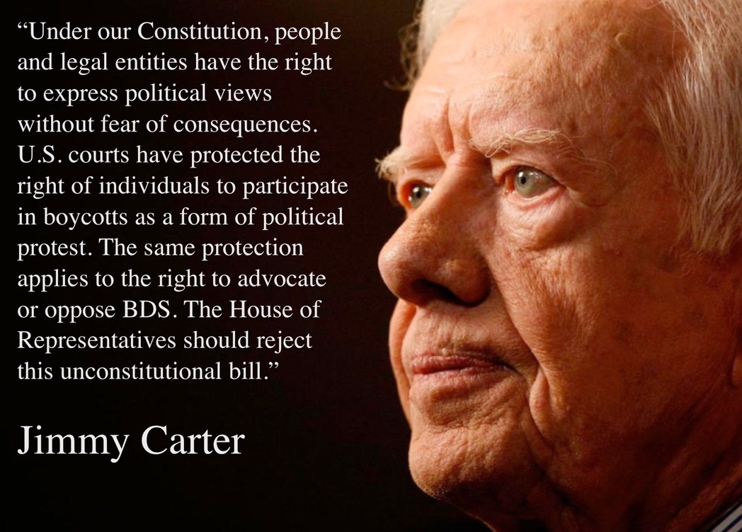 Carter on BDS law