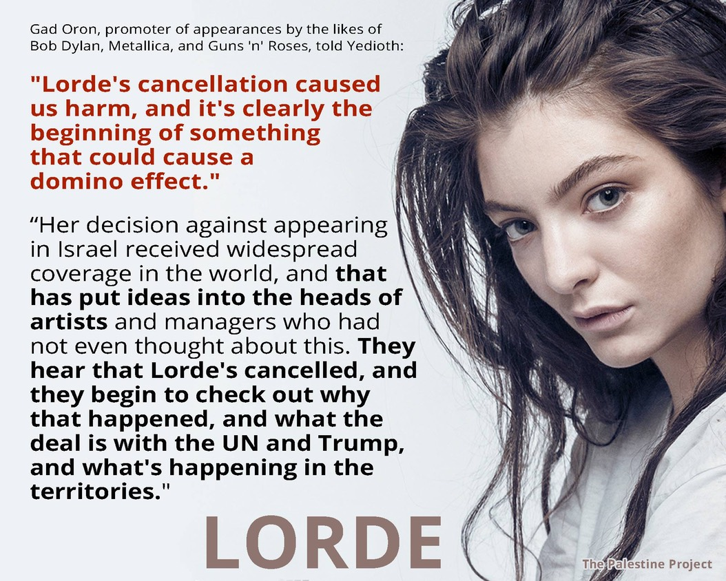 Gad Oren on Lorde and NDS