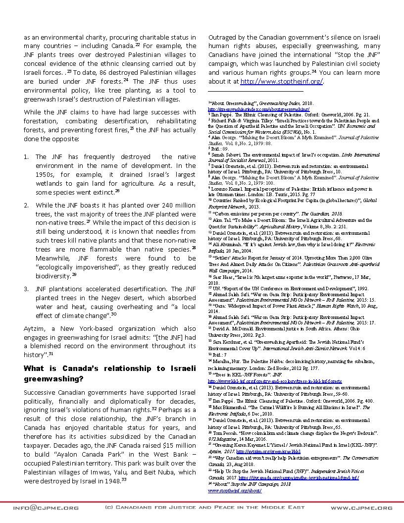 Israeli Greenwashing FAQ v02 Page 2