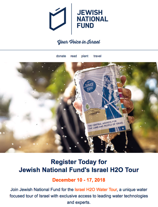 JNF Greenwashing