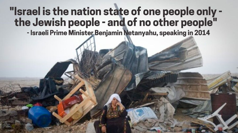 Netanyahu - Nation State of only the Jewish people