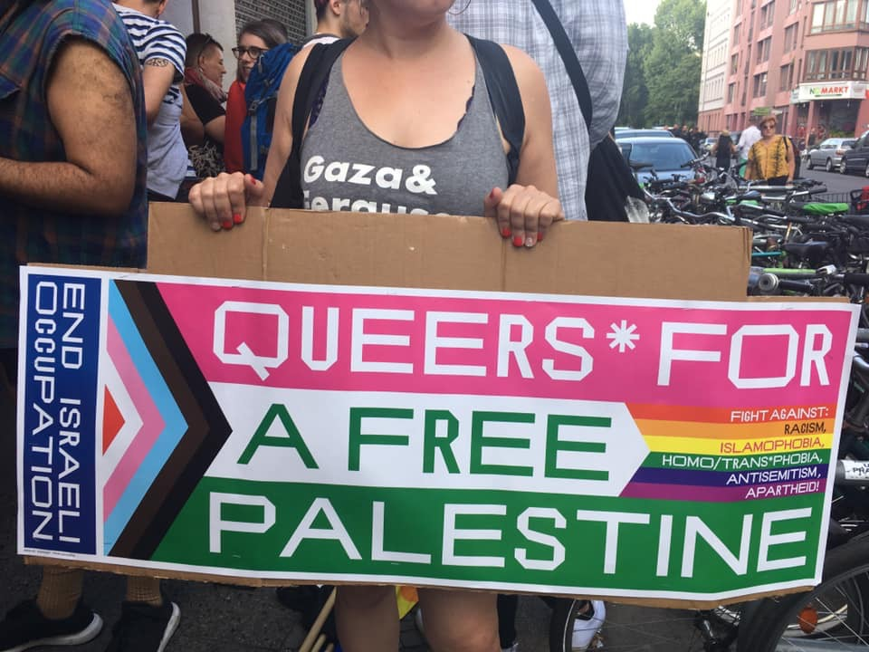 Queers for a Free Palestine