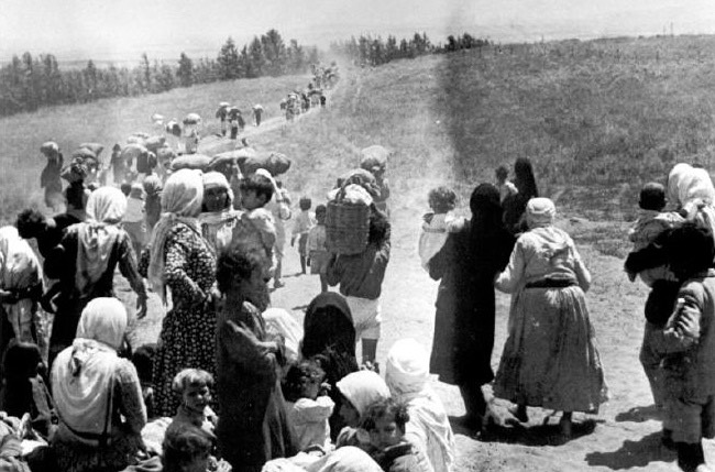 Nakba refugees (children, women)