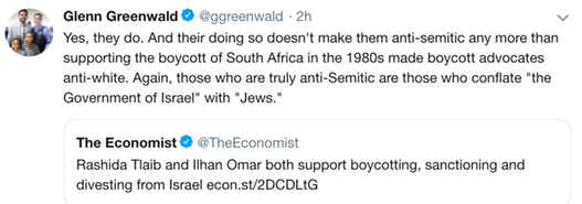 Glenn Greenwald on BDS